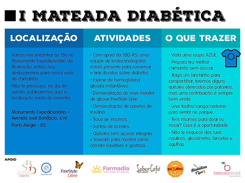 Encontro Diabetes Porto Alegre
