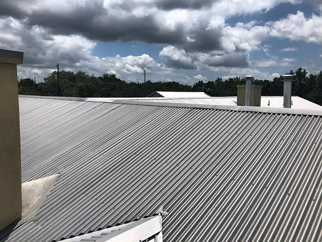 Roofing inspections after some crazy sto