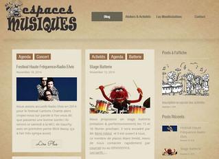 Bienvenue sur le site de l'association Espaces Musiques
