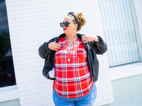 Bad Girl Vibes | Plus Size Model - Stephanie Wallace
