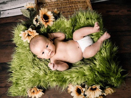 Baby Channing | Newborn Portraits