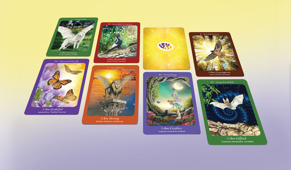The Monarch Method Oracle cards