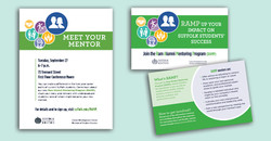 Alumni & Student RAMP flyer & card