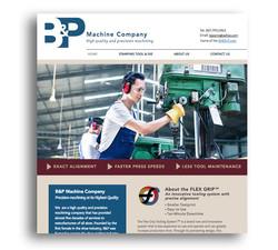 B&PMachineCo Website