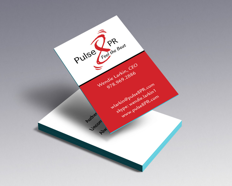 Pulse8 PR business card
