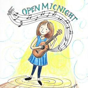 Open Mic Illustration