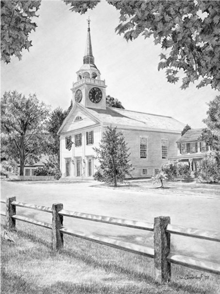 AMHERST CONGREGATIONAL CHURCH— single