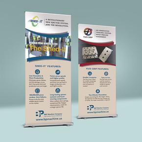 Company Branding & Trade Shows   B&P Machine Company