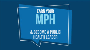 Earn your MPH at UMass Lowell animation