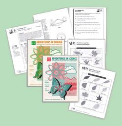 Adventures in Science, book design