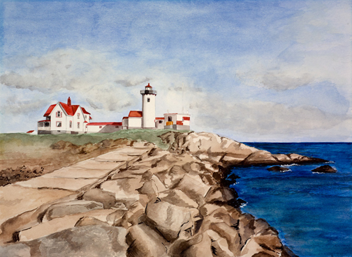 Coastal Lighthouse, Gloucester, MA