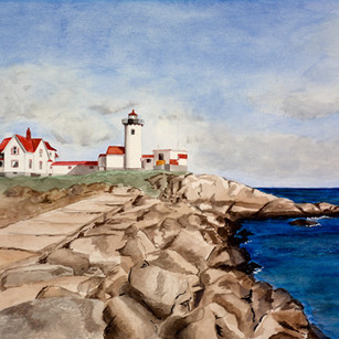 Lighthouse in Gloucester, MA