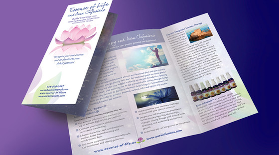 Aura Infusion brochure