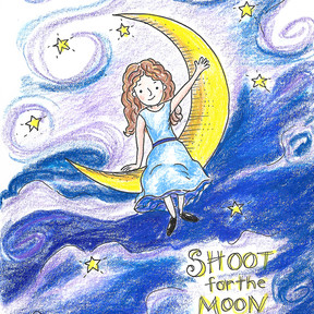 Shoot for the Moon illustration
