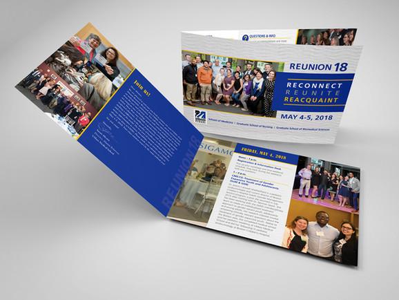 UMass 2018 Reunion 6 Page Brochure