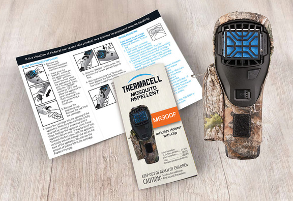 Thermacell Mosquito Repellent Brochure and MR300F
