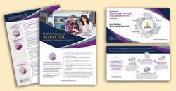 Suffolk Student Success flyer & card