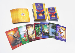 MM oracle card box set with cardsMOCKUP.
