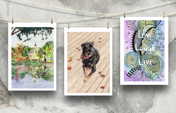 Fine Art Note Cards