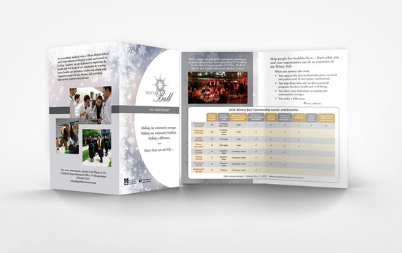 10th Anniversary Winter Ball Sponsorship Brochure