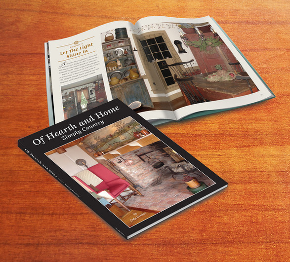 Of Hearth and Home book —layout, design & typeformat