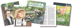 The Barefoot Boy book design