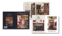 Of Hearth and Home, book design
