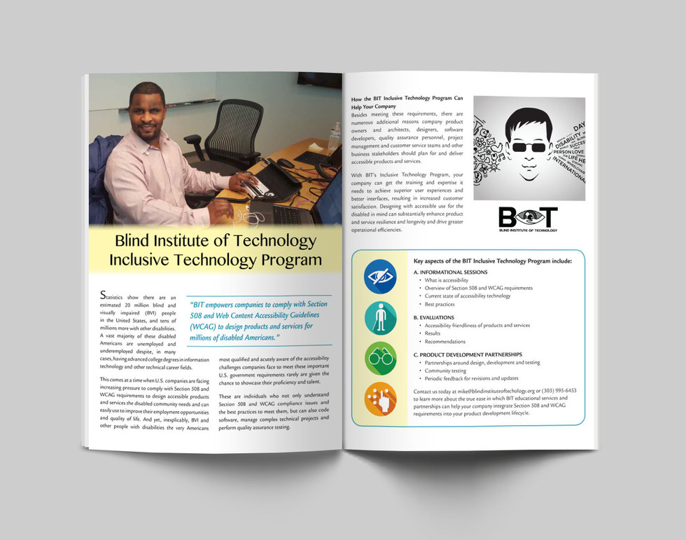 Blind Institute of Technology—Application Brief