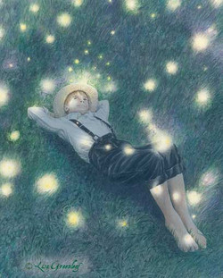 Firefly Kisses, book illustration