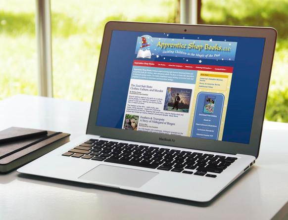 Apprentice Shop Books website