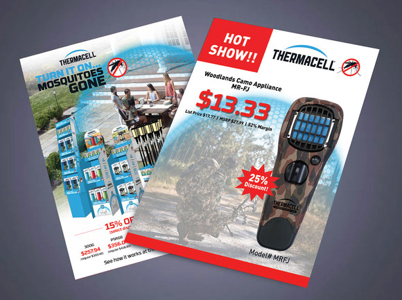 Thermacell Product Flyers for Tradeshows