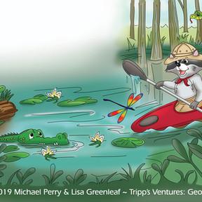 Tripp's Ventures: Georgia    Interior book illustration