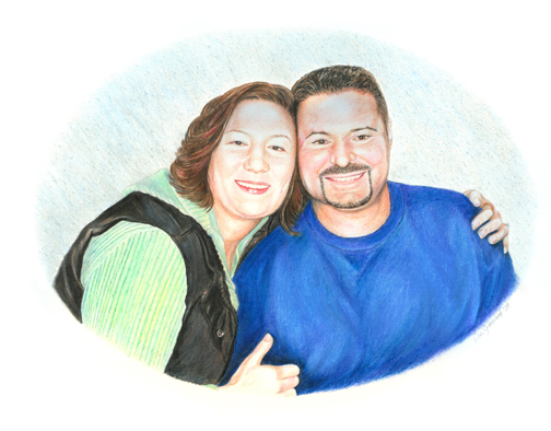 Portrait of Melissa & Matt