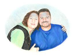 Portrait of Melissa & Matt