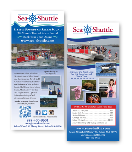 Sea Shuttle Rack card