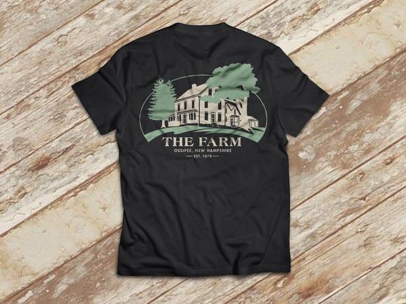 The Farm T-Shirt (back) – Two color print