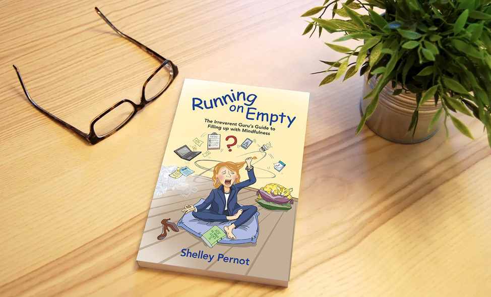 Running On Empty Cover and Illustration Design