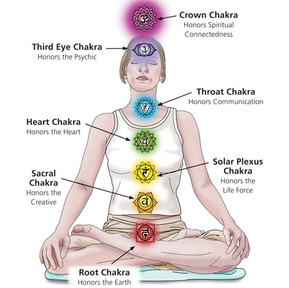 Open For Business   Interior book illustration   Chakra system