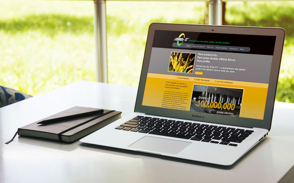 Shed-It website