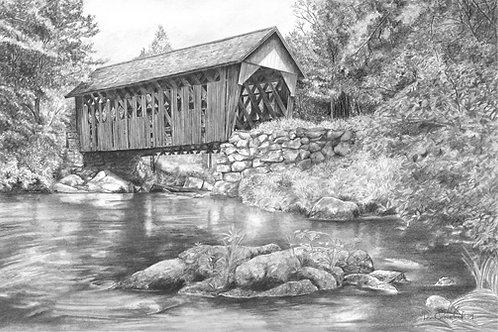 The Cilleyville Bridge, Andover, NH
