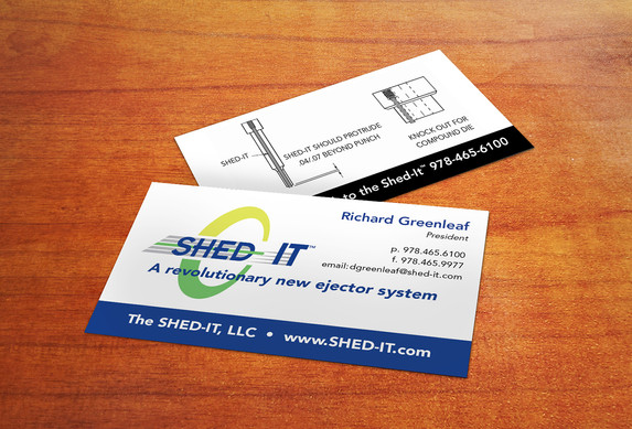 Shed-It Business cards