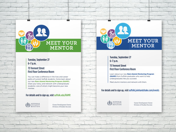RAMP Alumni Student Flyer/Posters