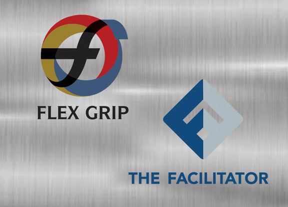 FlexGrip & TheFacilitator Logo Design