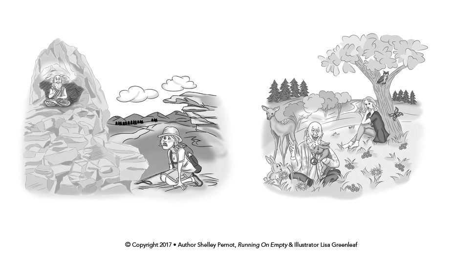 Illustrations for Running On Empty