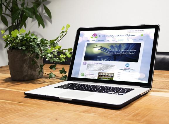 Aura Infusions website design