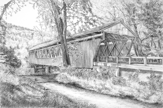 Whittier Bridge, OssipeeNH