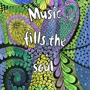 Music fills the Soul doodle