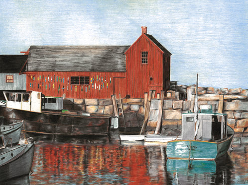 MOTIF, Rockport, MA – single note card