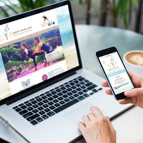 Company Branding & Web Design | Govinda Play Yoga