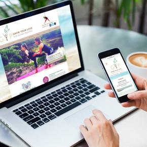 Company Branding & Web Design   Govinda Play Yoga